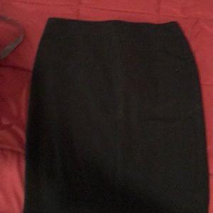 dressy black skirt